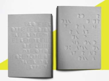Creative managment studio : Vrochure Design