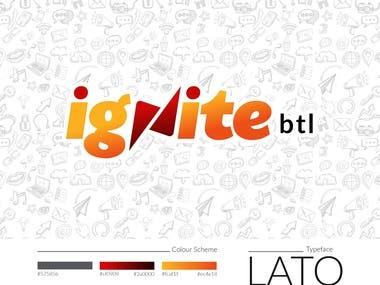 Ignite btl Brand Identity