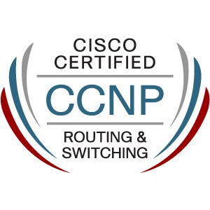 CCNP R&S Certificate