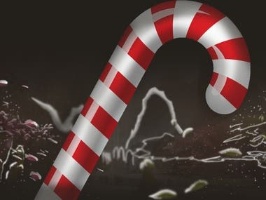 Banner for a gaming website ( Christmas Theme )