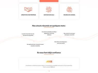 MBandSCOTT website Design
