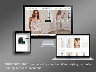 eCommerce Store - Shopify