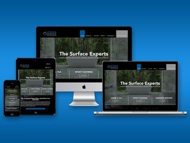 Veteran surfaces care - Wordpress