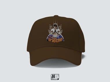 Muay Thai Cap design