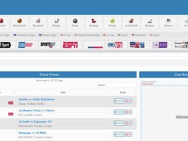 Codeigniter (Sports Website)