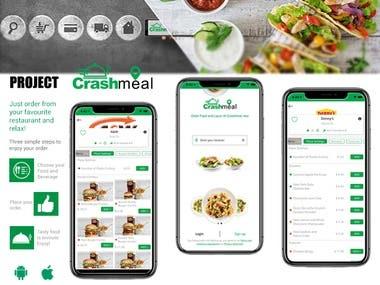 Crashmeal: Food delivery Application
