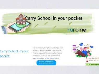 RAROME School ERP