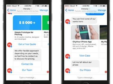 Chatting Bot App