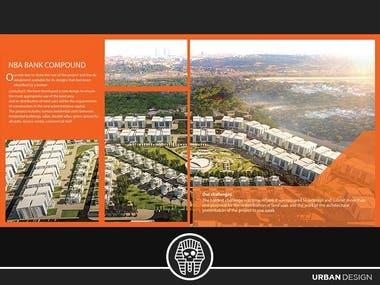 Urban & Landscape 3D design Visualization projects