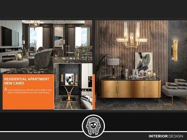3D interior design Visualization shots