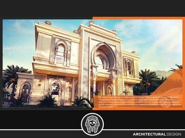 3D Exterior - Architectural Visualization Design