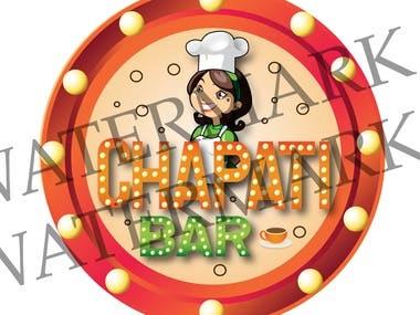 chapati logo design