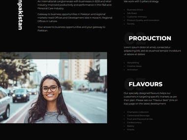 Portfolio Website for KalSal Enterprise