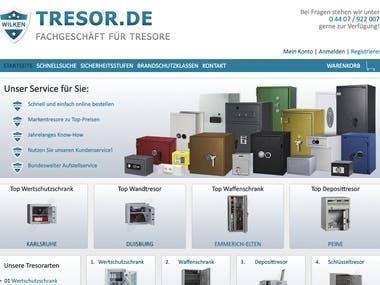 Tresor Drupal website
