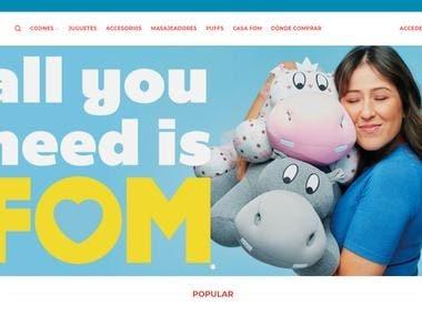 http://fom.com.pa ecommerce website