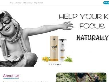 Ecommerce site http://canna-me.com/