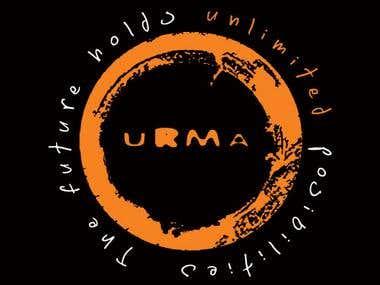 Urma tshirt campaign logo
