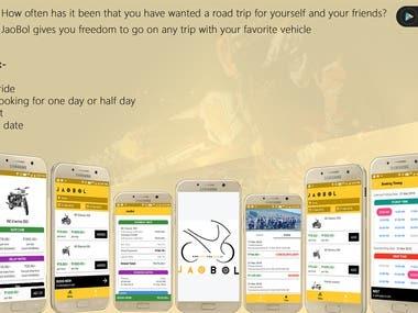 Jaobol- Bike Booking App in North East