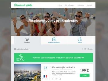 Travel & Booking website