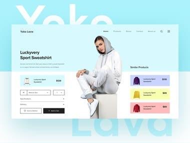 Yoko Lava Product Page