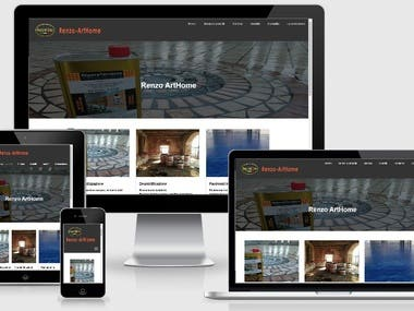 Sito web Renzo Art-Home