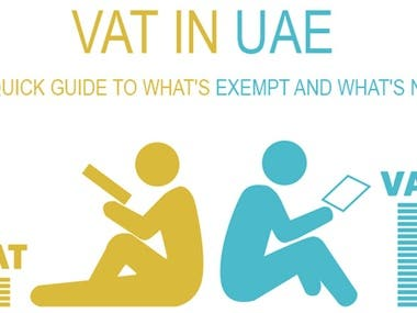 Brand centric content on VAT Registration for UAE