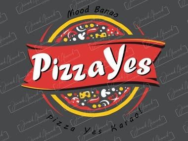 PizzaYes - Logo