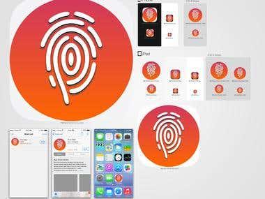 application launcher icon design