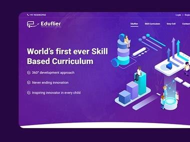 Eduflier - Portfolio Website
