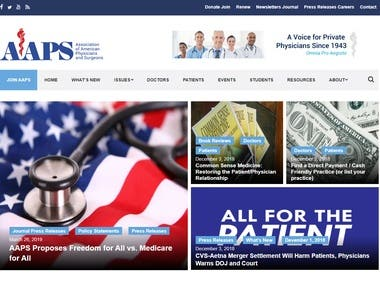 AAPS Site