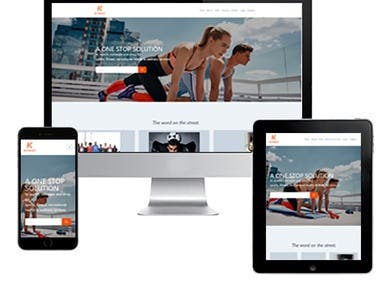 Fitness and Wellness Website