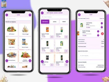 eCommerce app - React native