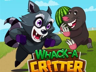Whack-A-Mole Mobile Game