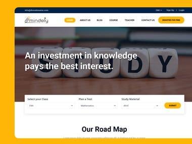 Mindely.com || E-Learning Platform