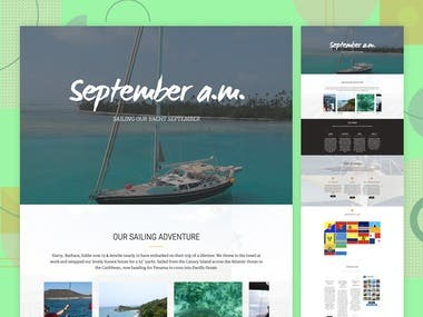 Redesign Website for Sailingseptember.com