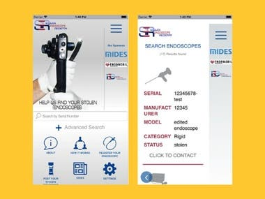 Medical Equipment App