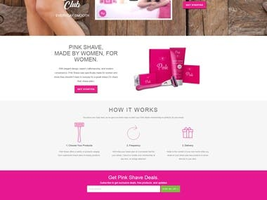 Shopify responsive ecommerce website