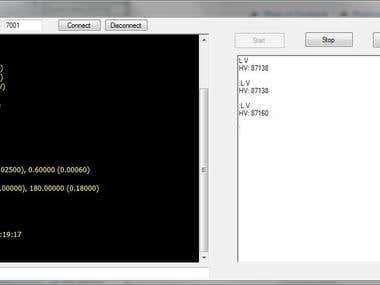 Telnet client