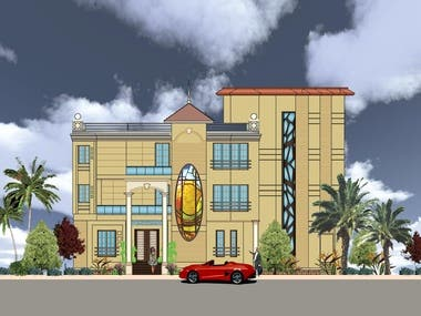Sample Project of Elevation Facade Design