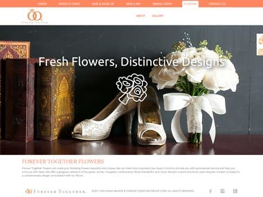 Project for Flower provider