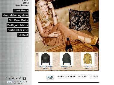 E-commerce Magento site