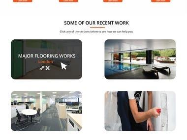 Construction Firm Wordpress Website.