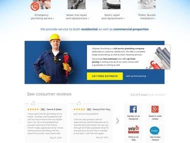 Website for Plumbing company