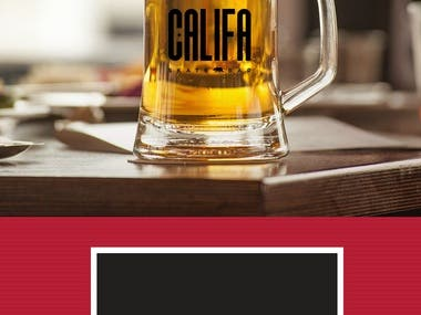 Califa Skate Bar - Branding