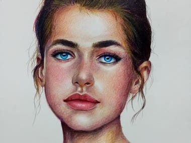 Portrait paintings and drawings