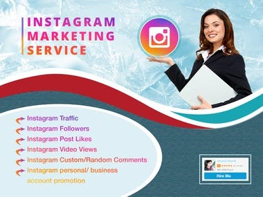 Instagram Businees page or Personal account promotion