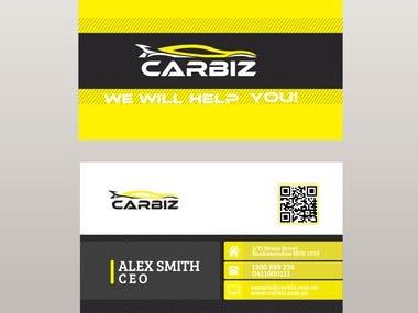 Business Card design - Carbiz ARV