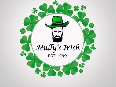 Mullys irish official logo