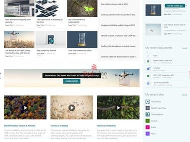 SharePoint modern Intranet - Communication Site
