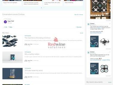 SharePoint modern Intranet portal - Team Site